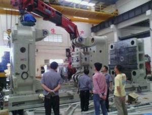 北京60T随车吊配合拼装设备