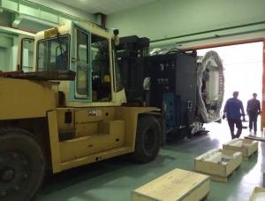北京12T加工机移动装车