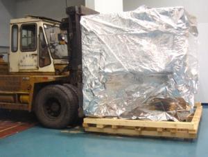 18T叉车整箱移动大型设备