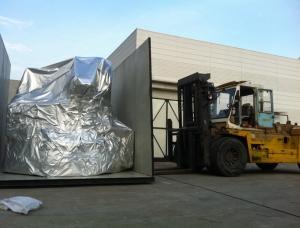 江苏牧野出口设备打包,包装箱由永胜大件制作